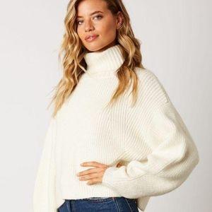 White Turtle Neck sweater